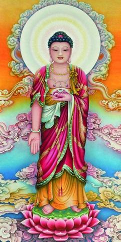 All the Buddha standing beforeYou